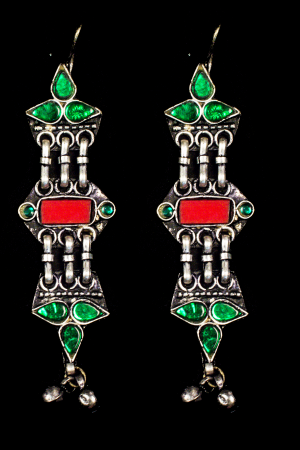 Afghan Earrings