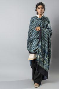 Ajrakh Mudal Silk