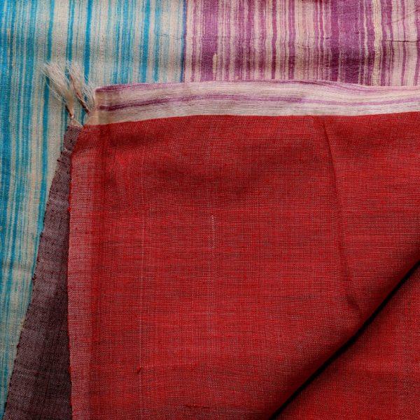 Multi-colour Silk Sari