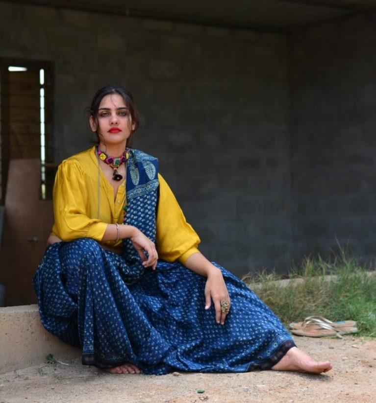Ajrakh Chanderi