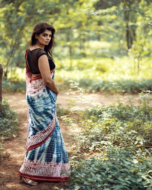 Shibori Chanderi