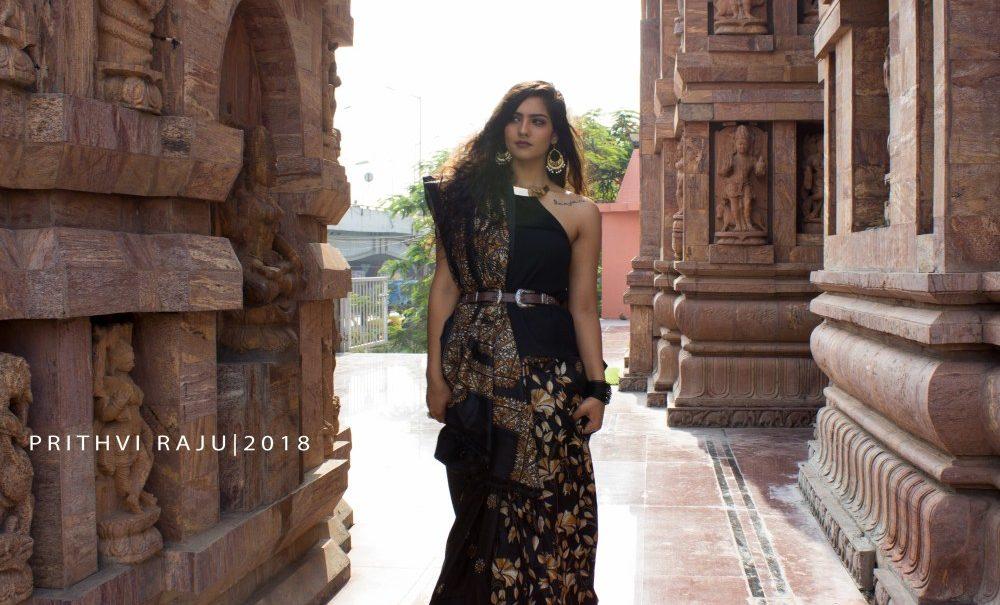Kantha Saree