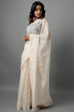 Khadi Cotton Jamdani