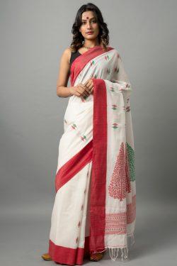 Khadi cotton jamdani