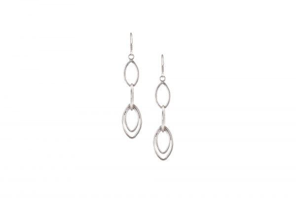 Silver Earring Drop Type