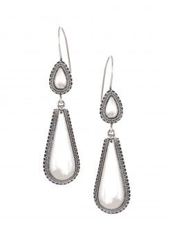 Silver Earrings drop style