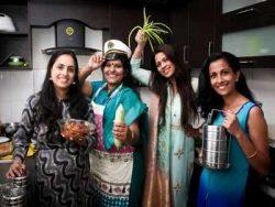 Tiffin service run by women