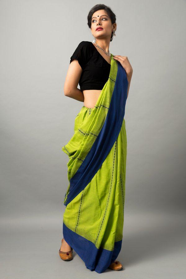Khadi cotton saree