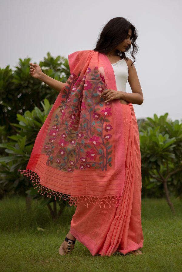 Matka Silk Jamdani