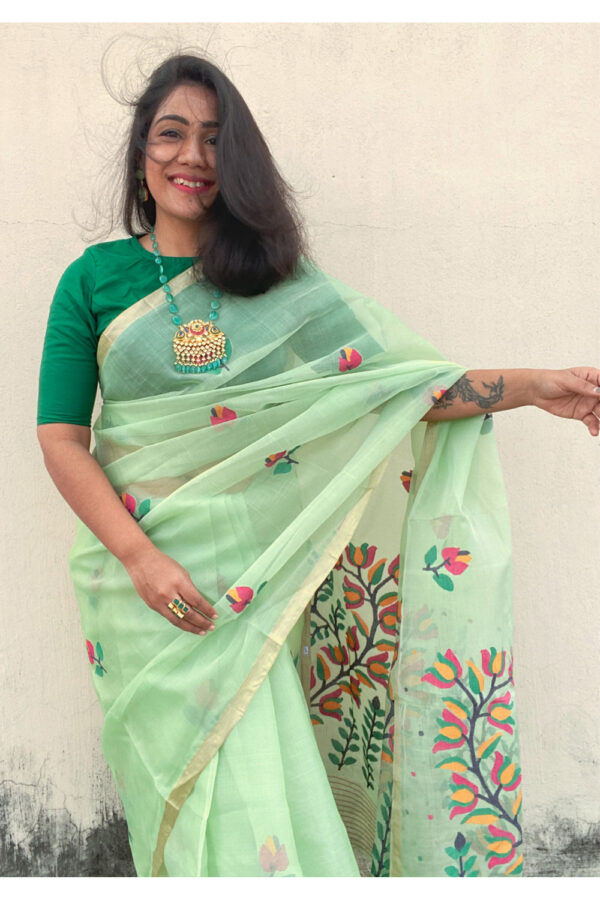 Resham Silk Jamdani