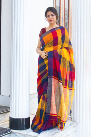 Khadi Cotton Saree