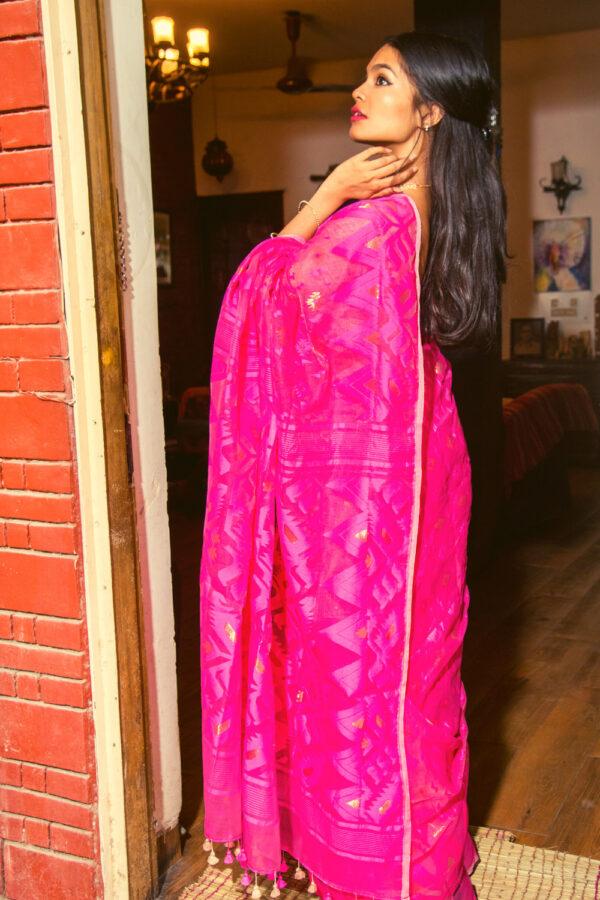 Khadi Silk Jamdani