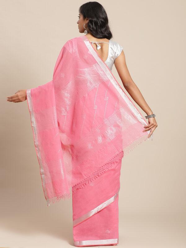 Firdous Khadi Cotton Saree