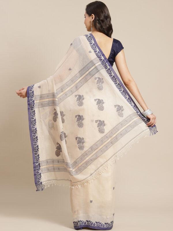 Mayuri Khadi cotton saree